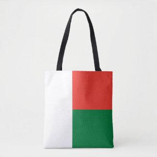 Madagascar Flag Tote Bag
