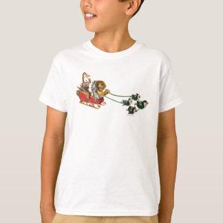Madagascar Holiday Sled T-Shirt