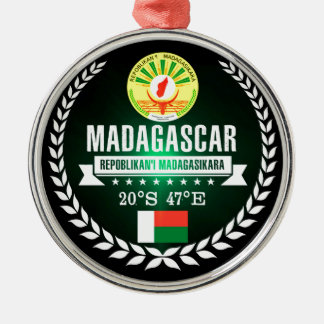 Madagascar Metal Ornament