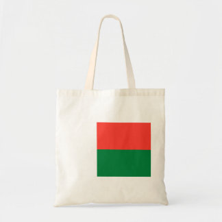 Madagascar National World Flag Tote Bag