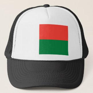 Madagascar National World Flag Trucker Hat