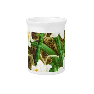 Madagascar Vanilla Orchid Pitcher