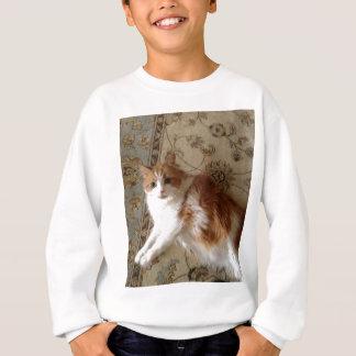 Madalin the relaxing cat sweatshirt