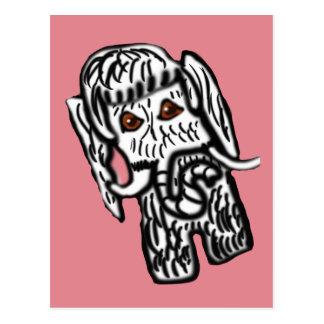 Madalynne The Mammoth Postcard