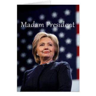 Madam President Style 1 Card
