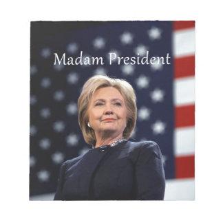 Madam President Style 1 Notepad