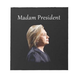 Madam President Style 2 Notepad