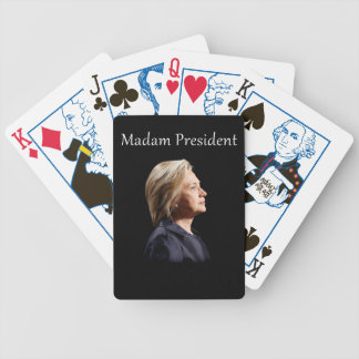 Madam President Style 2 Poker Deck