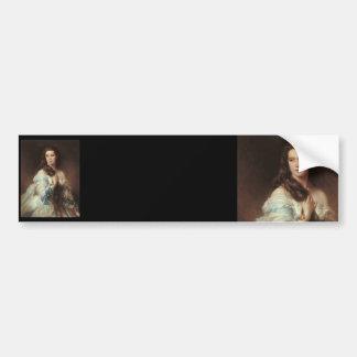 Madame Barbe de Rimsky-Korsakov Bumper Sticker