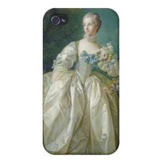 Madame Bergeret, c. 1766 (oil on canvas) iPhone 4/4S Cases