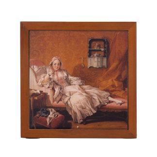 Madame Boucher by Francois Boucher Desk Organiser