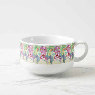 """Madame"" bowl by MAR from Thleudron Soup Mug"