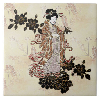 Madame Butterfly Tile