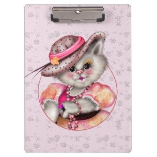 MADAME CAT CARTOON  Clipboard