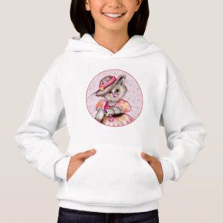 MADAME CAT  CARTOON Hoodie Girl