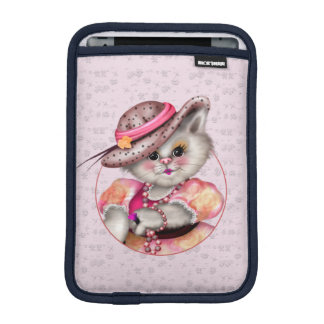 MADAME CAT CUTE CARTOON iPad Mini iPad Mini Sleeve