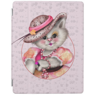 MADAME CAT CUTE  iPad 2/3/4 Smart Cover