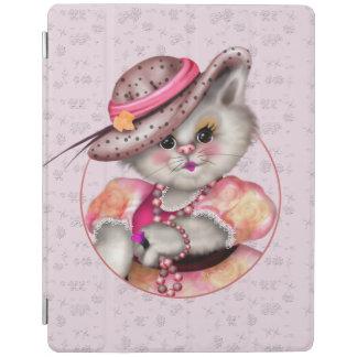 MADAME CAT CUTE  iPad 2/3/4 Smart Cover iPad Cover