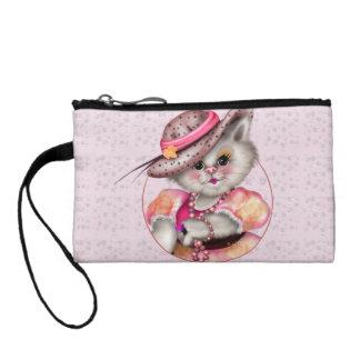 MADAME CAT Key Coin Clutch Bag Coin Purse