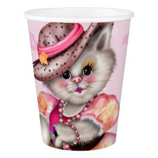 MADAME CAT LOVE  PAPER CUP 2