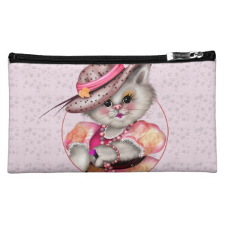 MADAME CAT Medium  Cosmetic  Bag