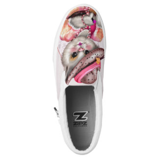 MADAME CAT Slip On Shoes