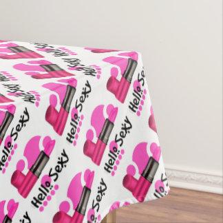 "MADAME CAT Tablecloth COLOR LIPS 52""x70"""