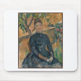 Madame Cézanne (Hortense Fiquet, 1850–1922) Mouse Pad