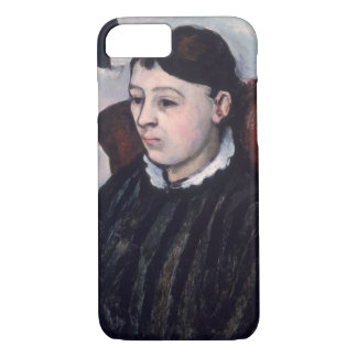 Madame Cezanne, c.1883-85 (oil on canvas) iPhone 7 Case