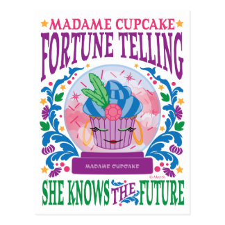 Madame Cupcake Fortune Telling Post Cards