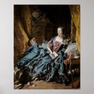 Madame de Pompadour, 1756 Poster