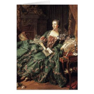 Madame de Pompadour Card