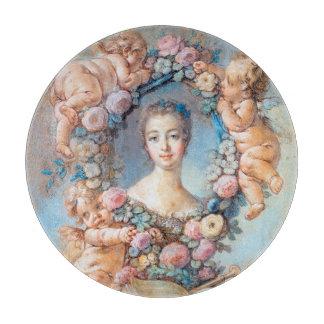 Madame de Pompadour François Boucher rococo lady Cutting Board