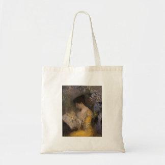 Madame Fontaine Doing Needlework Tote Bag