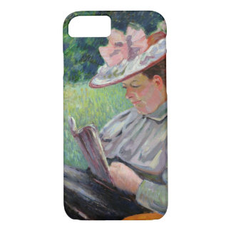 Madame Guillaumin, c.1895 (oil on canvas) iPhone 7 Case