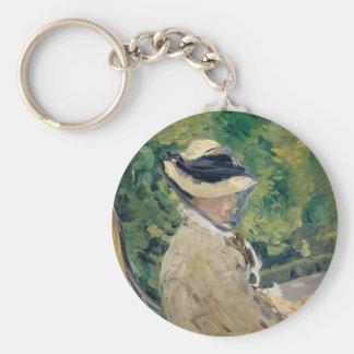Madame Manet (Suzanne Leenhoff, 1830–1906) Key Ring