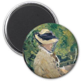 Madame Manet (Suzanne Leenhoff, 1830–1906) Magnet