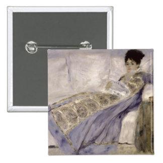 Madame Monet on a Sofa, c.1874 (oil on canvas) Pins
