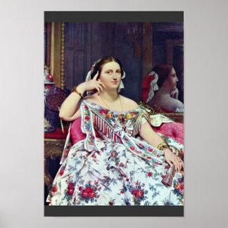 Madame Paul-Sigisbert Moitessier Née Marie-Clotild Poster