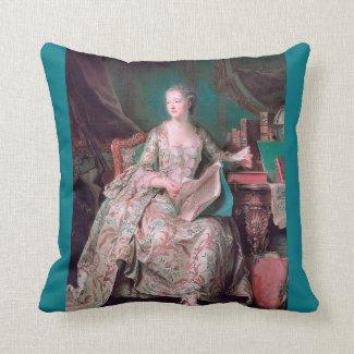 Madame Pompadour Pillow Cushion