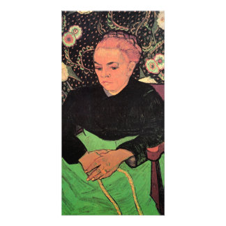 Madame Roulin Rocking the Cradle by van Gogh Picture Card
