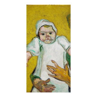 Madame Roulin with Baby by Vincent Van Gogh Picture Card