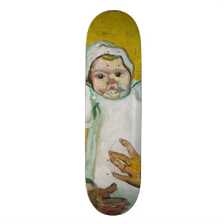 Madame Roulin with Baby by Vincent Van Gogh Skate Boards