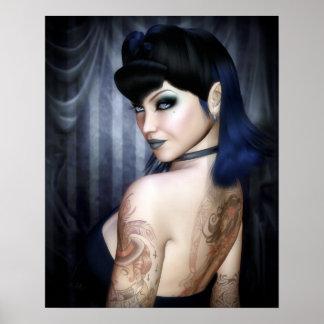 Madame Sophie Vampire Queen Poster/Canvas Print