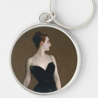 Madame X by John Singer Sargent Key Ring