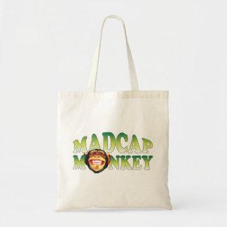 Madcap Monkey Tote Bag