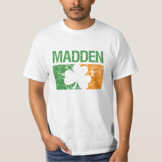Madden Surname Clover T-Shirt