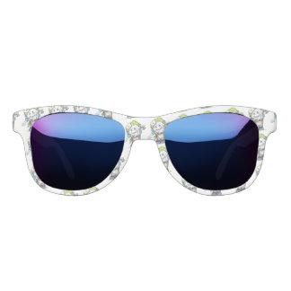 MADDI ALIEN CARTOON Midnight Mirror Sunglasses W