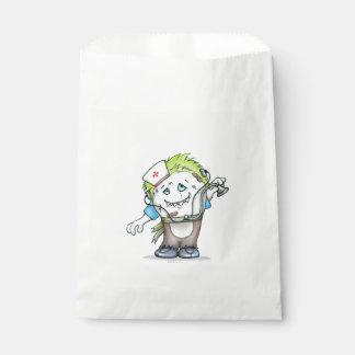 MADDI FAVOR BAG MONSTER White Favour Bags