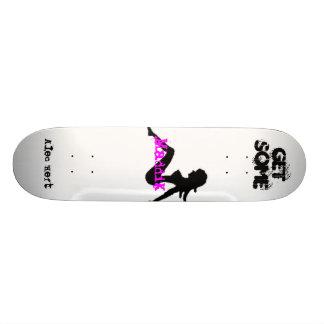 maddik skate team 18.1 cm old school skateboard deck